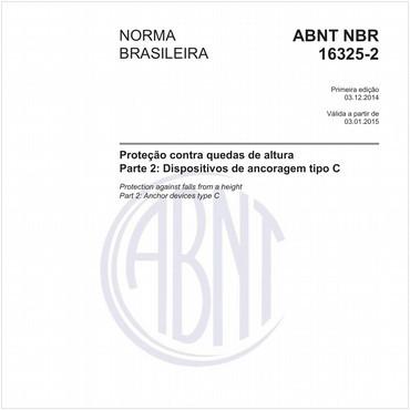 NBR16325-2 de 12/2014