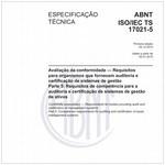 ABNT ISO/IEC TS17021-5