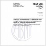 NBRISO/IEC17007