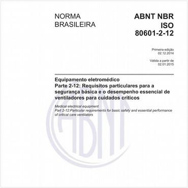 NBRISO80601-2-12 de 12/2014