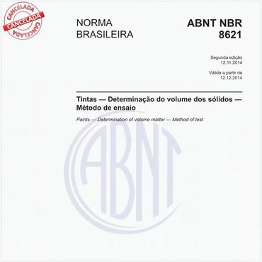 NBR8621 de 11/2014