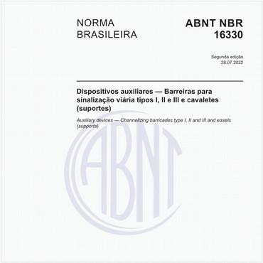 NBR16330 de 12/2014