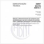 ABNT IEC/TS60815-1