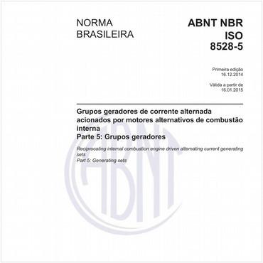 NBRISO8528-5 de 12/2014