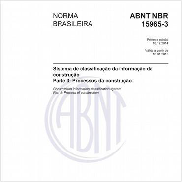 NBR15965-3 de 12/2014