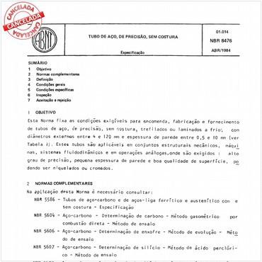 NBR8476 de 04/1984