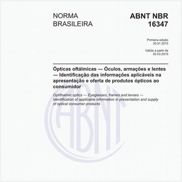 NBR16347 de 01/2015