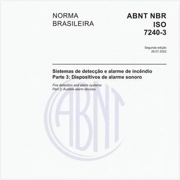 NBRISO7240-3 de 01/2015