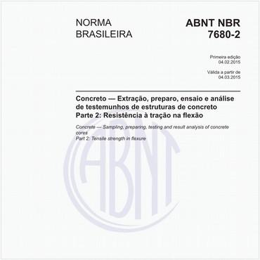 NBR7680-2 de 02/2015