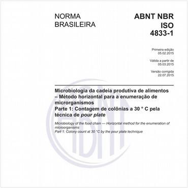 NBRISO4833-1 de 02/2015