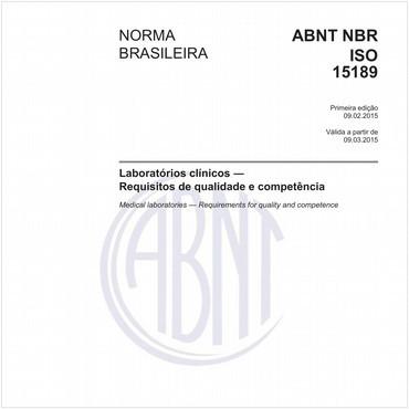 NBRISO15189 de 02/2015