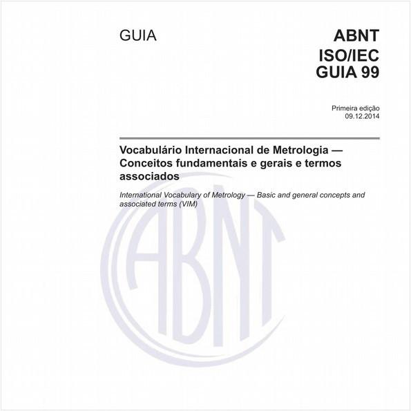 Vocabulário Internacional de Metrologia - Conceitos fundamentais e gerais e termos associados