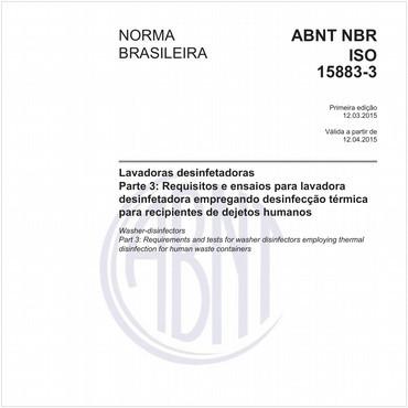 NBRISO15883-3 de 03/2015