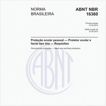 NBR16360 de 04/2015