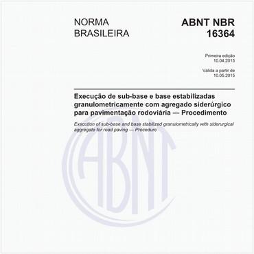 NBR16364 de 04/2015
