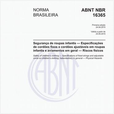 NBR16365 de 04/2015