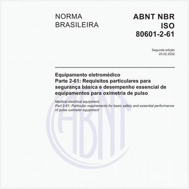 NBRISO80601-2-61 de 04/2015