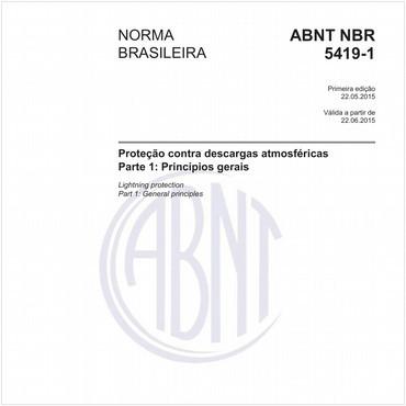NBR5419-1 de 05/2015