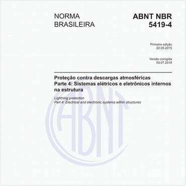 NBR5419-4 de 05/2015