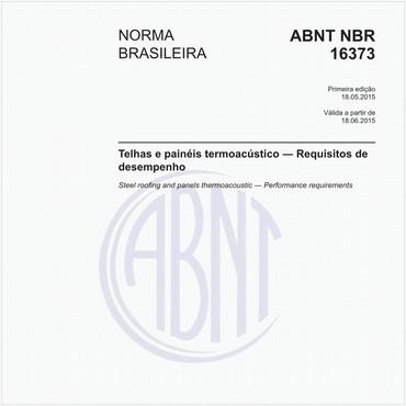 NBR16373 de 05/2015