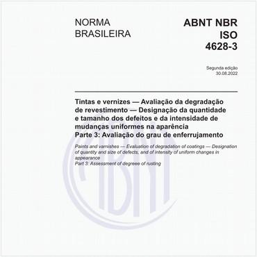NBRISO4628-3 de 05/2015