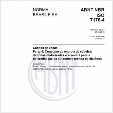 NBRISO7176-4 de 05/2015