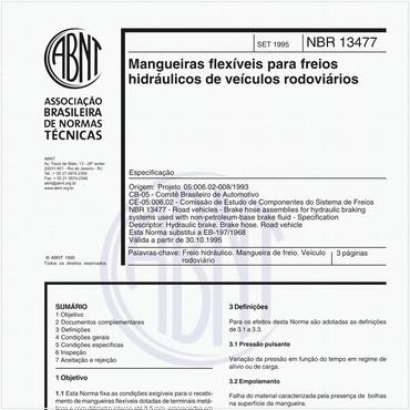 NBR13477 de 09/1995