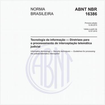 NBR16386 de 06/2015