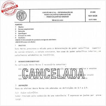 NBR8628 de 10/1984