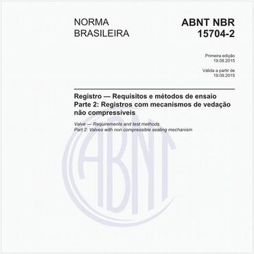NBR15704-2 de 08/2015