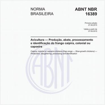 NBR16389 de 08/2015