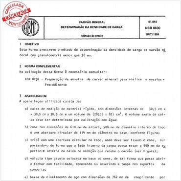 NBR8630 de 10/1984