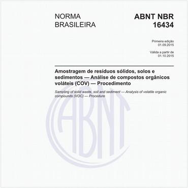 NBR16434 de 09/2015