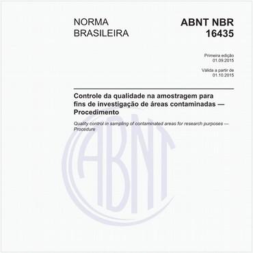 NBR16435 de 09/2015