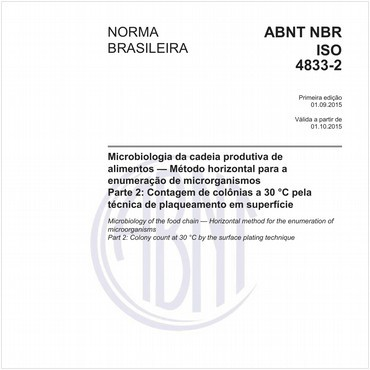 NBRISO4833-2 de 09/2015