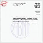 ABNT ISO/TS14067