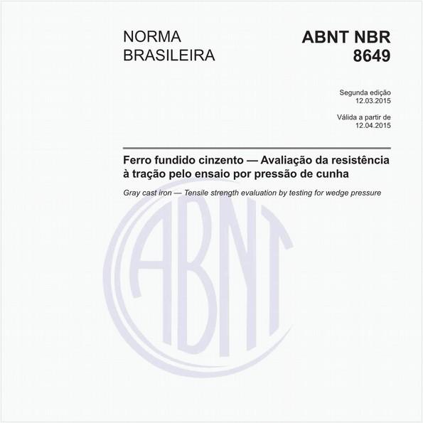 NBR8649 de 03/2015
