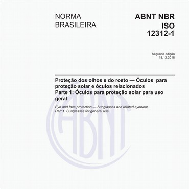 NBRISO12312-1 de 12/2018
