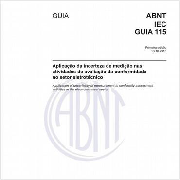 ABNT IEC GUIA115 de 10/2015