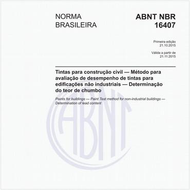 NBR16407 de 10/2015
