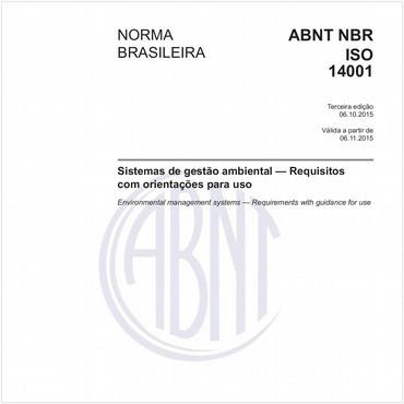 NBRISO14001 - COMENTADA de 10/2015