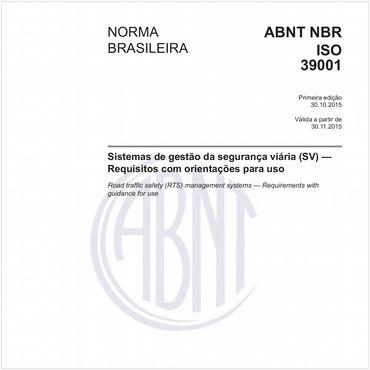 NBRISO39001 de 10/2015