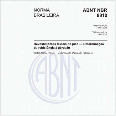 NBR8810 de 04/2015