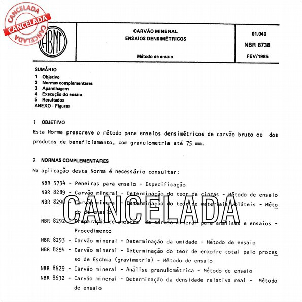 NBR8738 de 10/2011