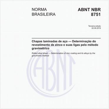 NBR8751 de 08/2019