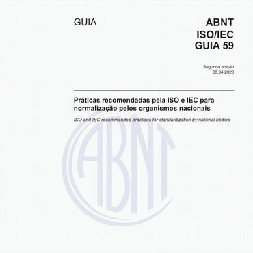 ABNT ISO/IEC GUIA59 de 04/2020