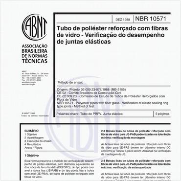 NBR10571 de 12/1988