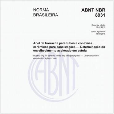 NBR8931 de 01/2015