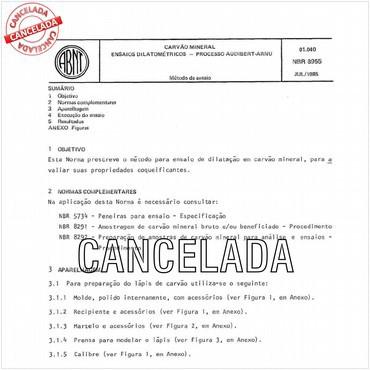 NBR8955 de 07/1985