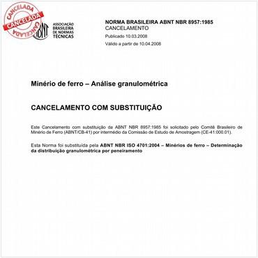 NBR8957 de 07/1985